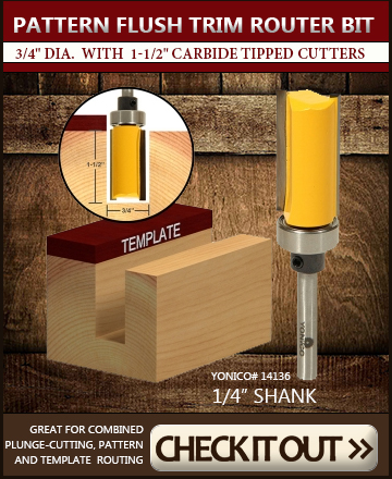 Top Seller: Flush trim router bit