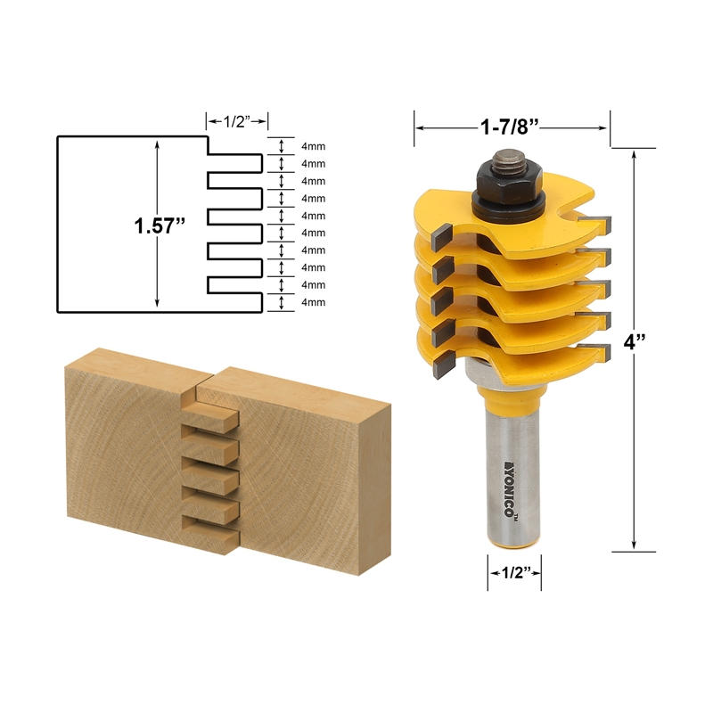 Joinery Finger Joint Box Joint Router Bit