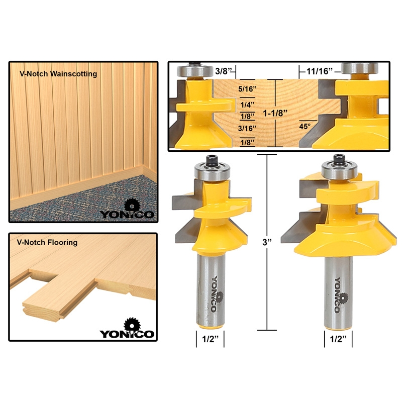 how to set up a tongue and groove router bit