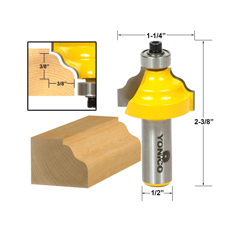Edging Other Profiles Wavy Edge Molding Router Bit