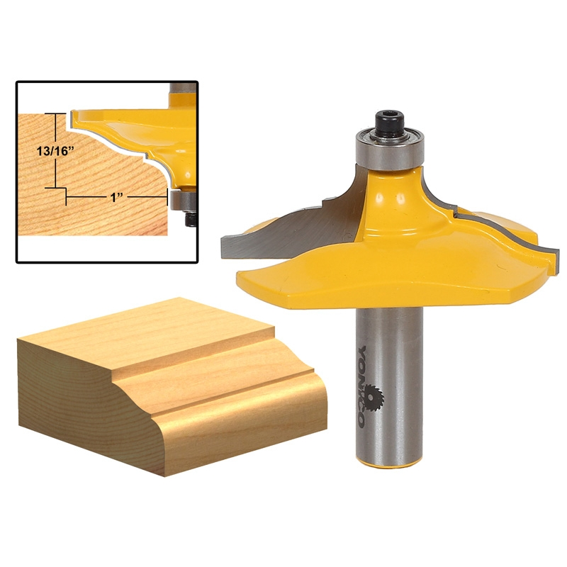 """1 PC 1//2/"""" Shank Classical Ogee Table Edge Router Bit S"""
